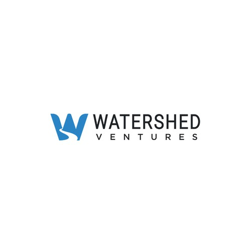 Logo concept for Watershed Ventures