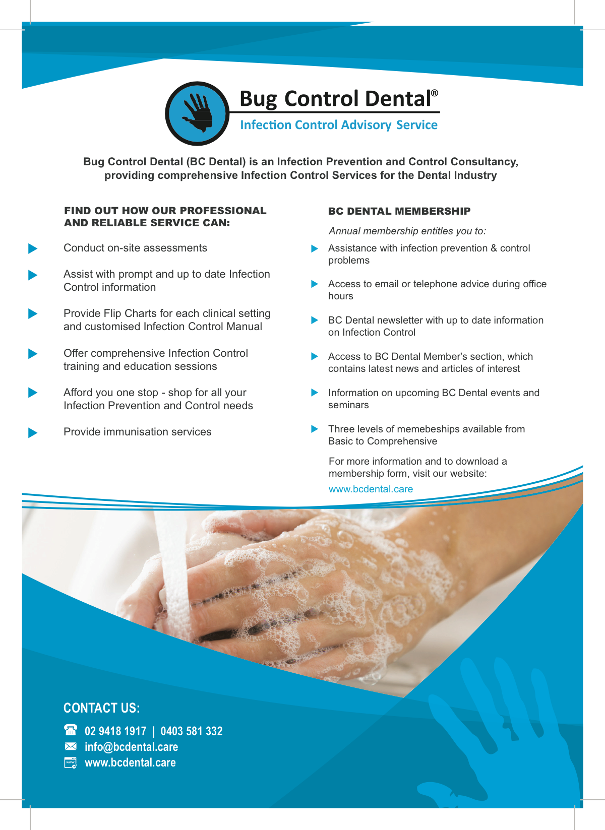 Brochure for a4 printout or email