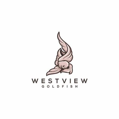 goldfish logo design