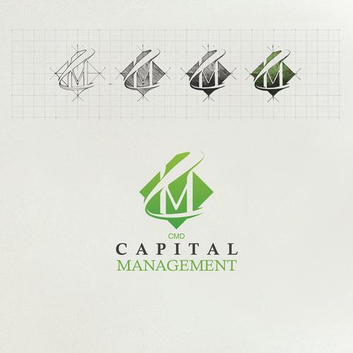 CMD Capital Management Logo design concept