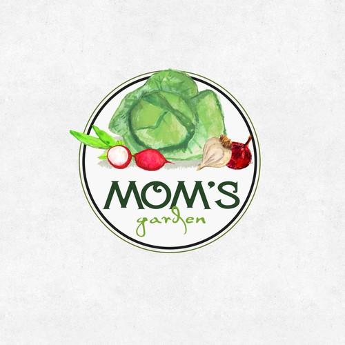 Logo for Mom`s GArden