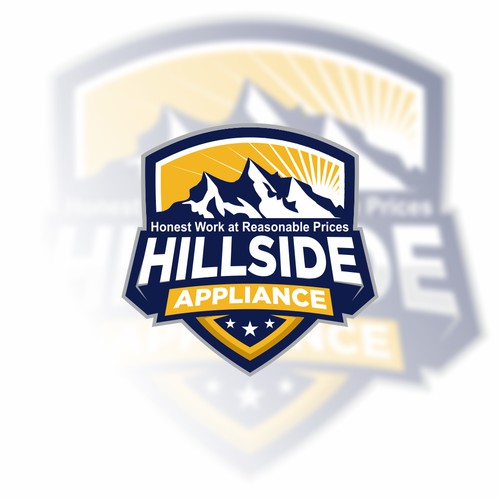 Bold logo concept for hillside appliance