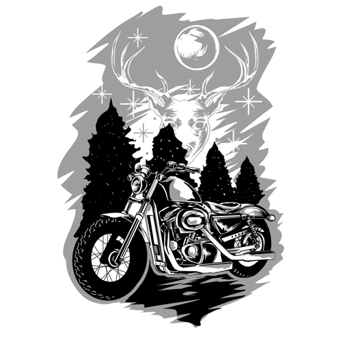 Winter for biker