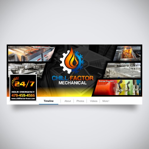 Chill Factor Facebook Cover Photo