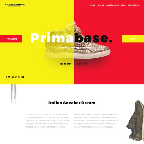 Stylist Primabase Homepage