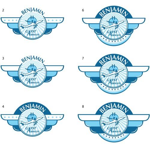 "Logo Design ""Benjamin Gayst Airways"""