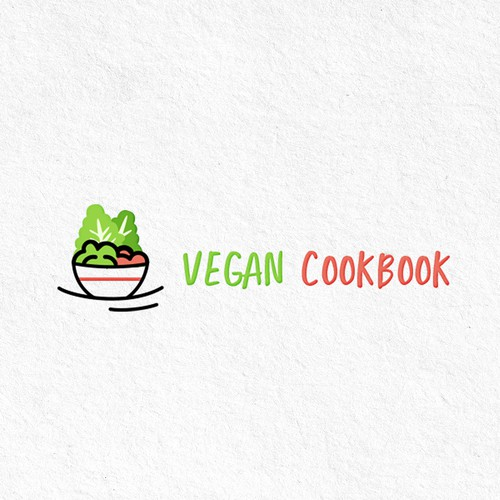 Logo for vegan recipes