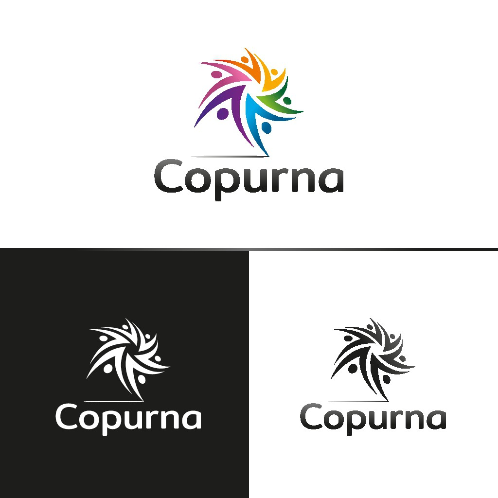 Copurna needs a software consulting company logo that shows compassion and LGBT pride