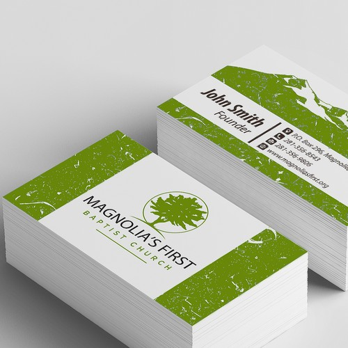 Business Card for Magnolia's First