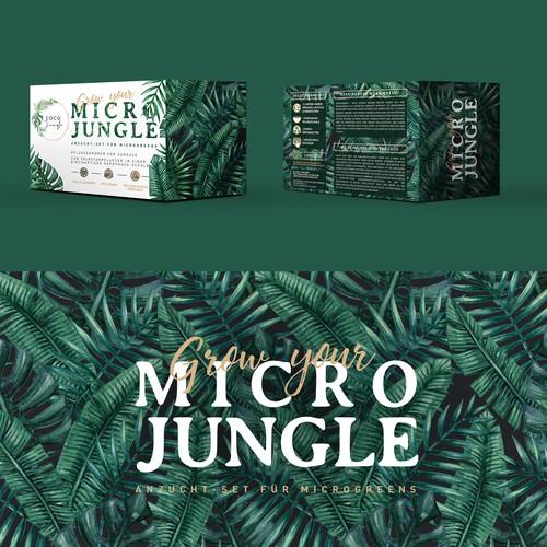 Packaging design MICRO JUNGLE