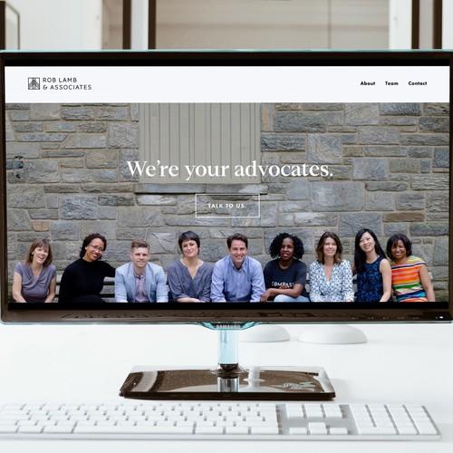 Rob Lamb & Associates rebrand