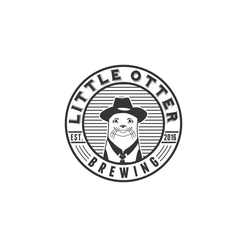 Logo For Little Otter Brewing