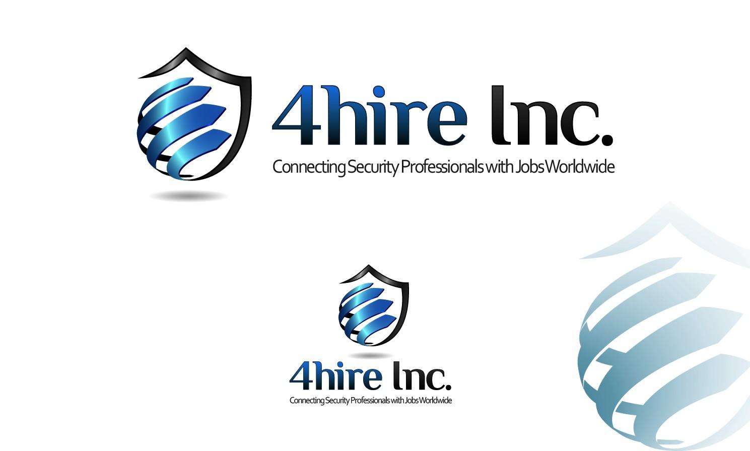create a logo design for 4hire Inc