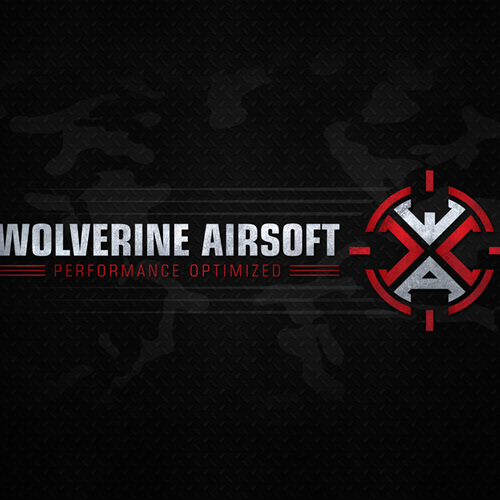 Military. High Tech. WOLVERINE AIRSOFT. Help us design an awesome logo!
