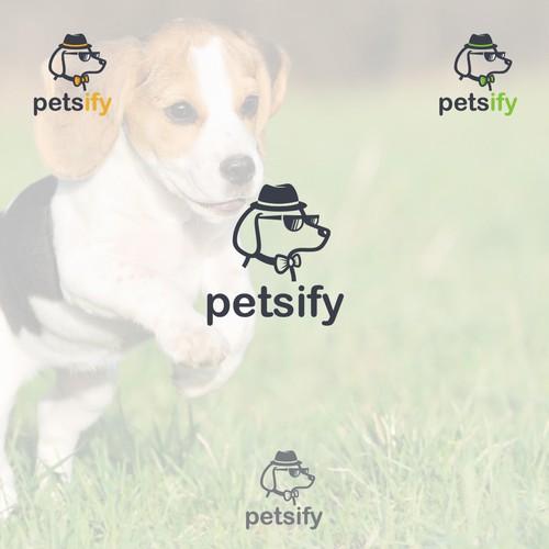 Logo for Petsify