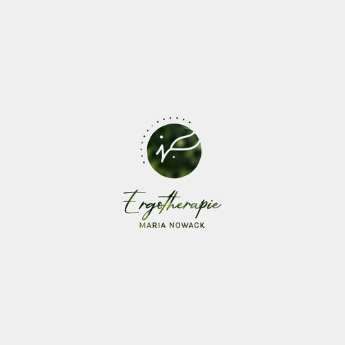 Junge Ergotherapie Logo design