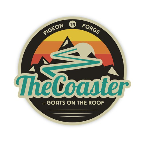 The Roller Coaster Logo