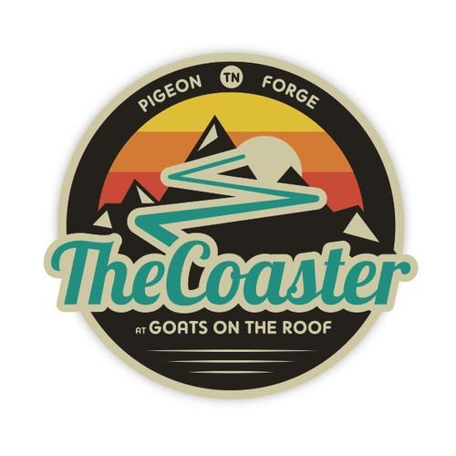 The Roller Coaster Logo