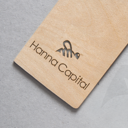 Logo concept for financial company