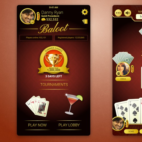 Baloot Card Game