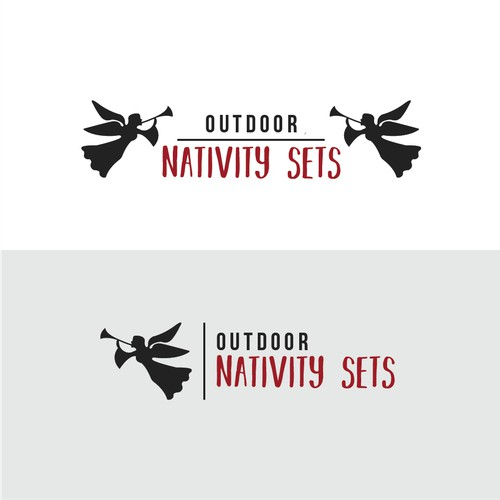 Logo contest entry for Outdoor Nativity Sets