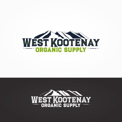 Logo for organic supply company