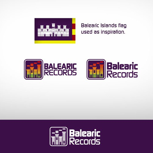 Design for record label.