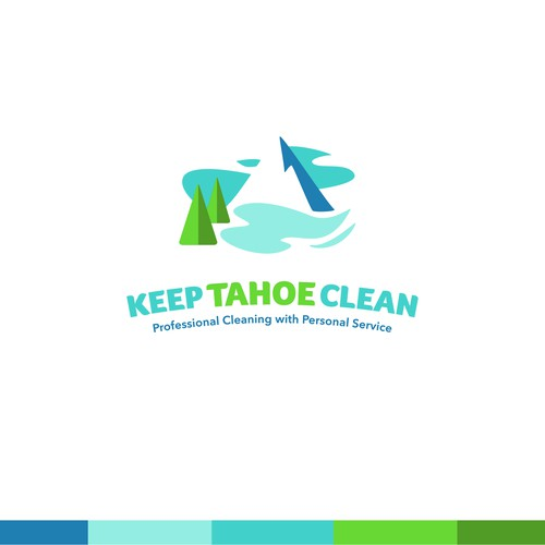 Logo for cleaning company.