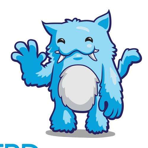 Create an imaginary monster mascot