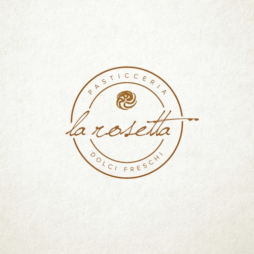 Vintage logo concept for bakery