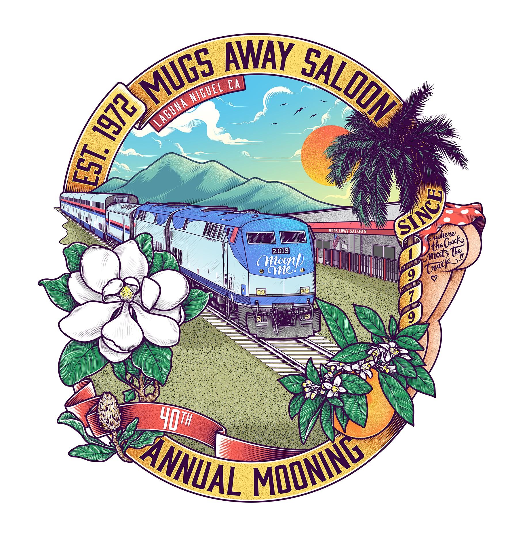 Mugs Away Saloon 40th Mooning of the Amtrak