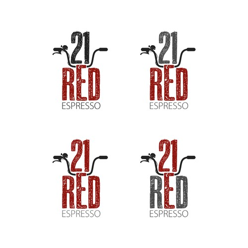 21 red espresso winning logo