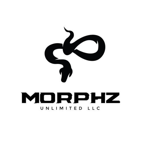 Snake Logo Concept for Morphz Unlimited