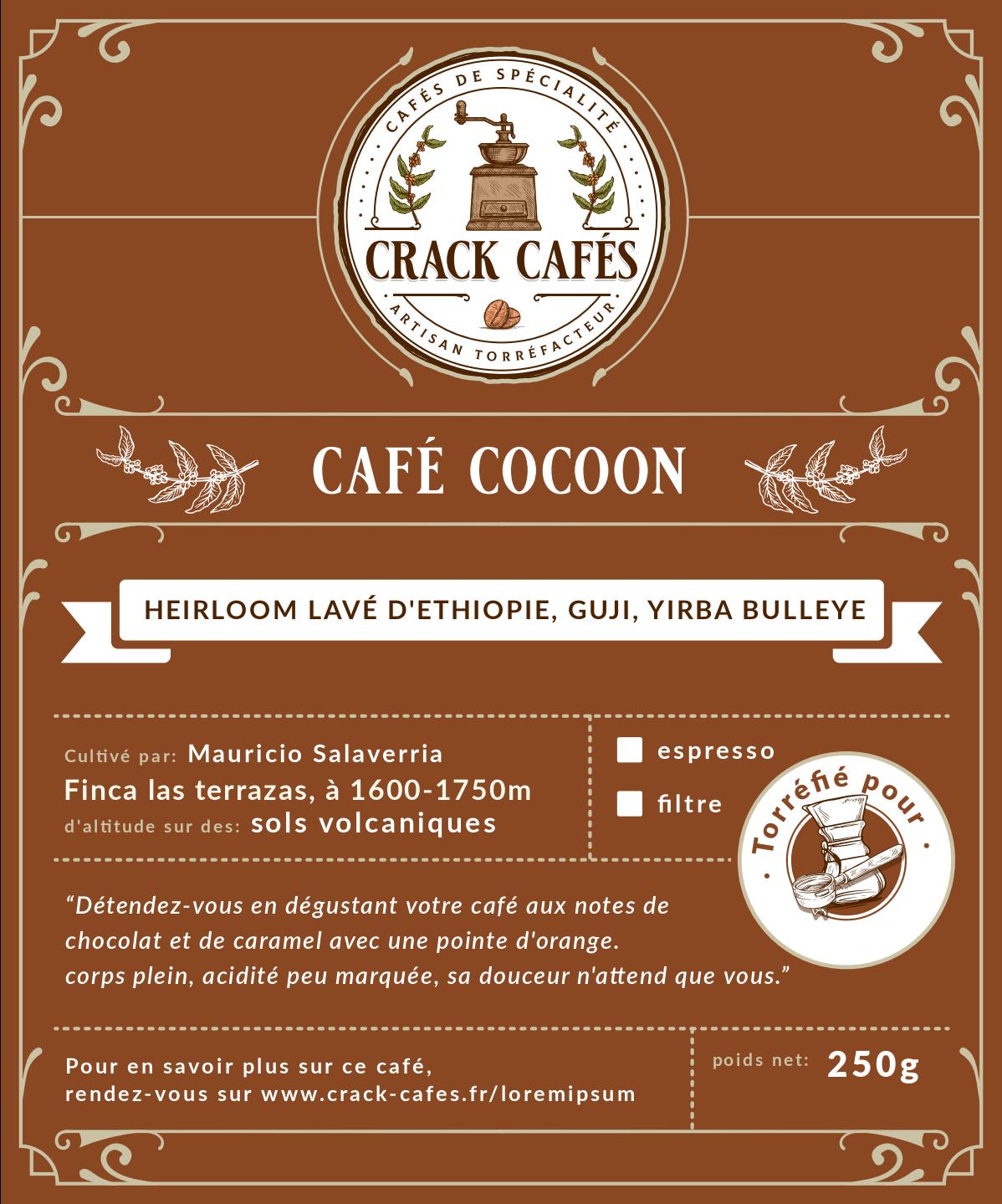 labels for crack cafés