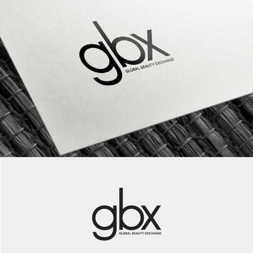 A letter mark logo for a cosmetic company.