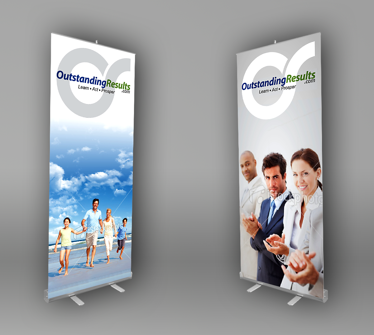 Pull-up event banners design for event promotion co