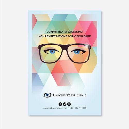 Eyeglass cleaning cloth design