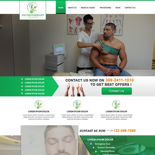 Physiotherapy Bio Center  website