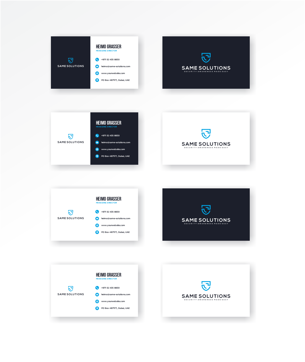 Branded documents based on logo