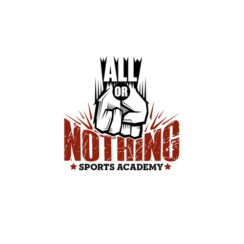 All or Nothing Logo Design