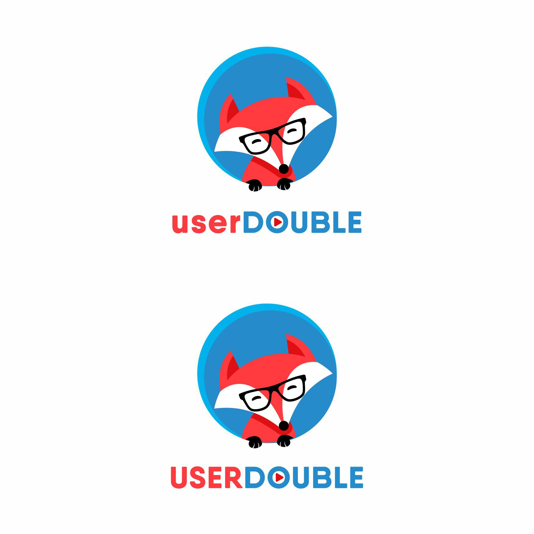 userDouble needs a fun, clean logo for its website