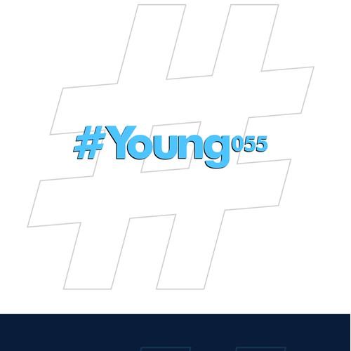Bold logo concept for young platform