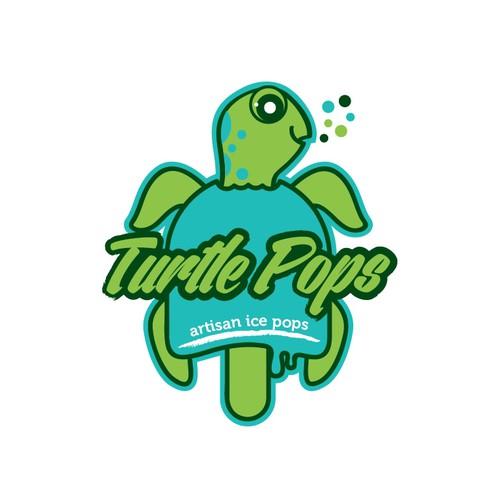Logotype for ice pops brand