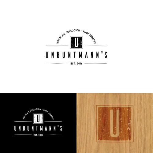 Old school yet modern logo for Untbuntmann's