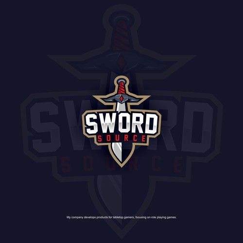 Sword Logo concept for Sword & Source