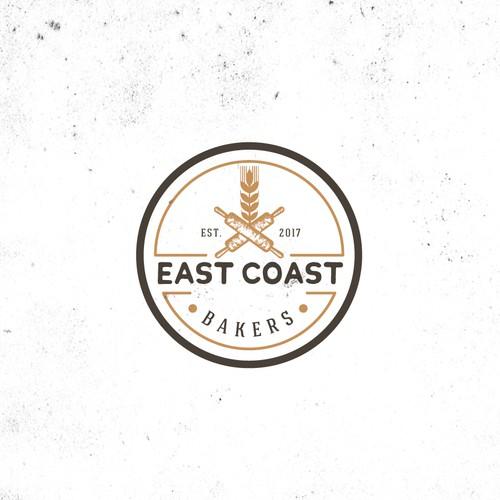 Create a cool, fresh logo for - East Coast Bakers