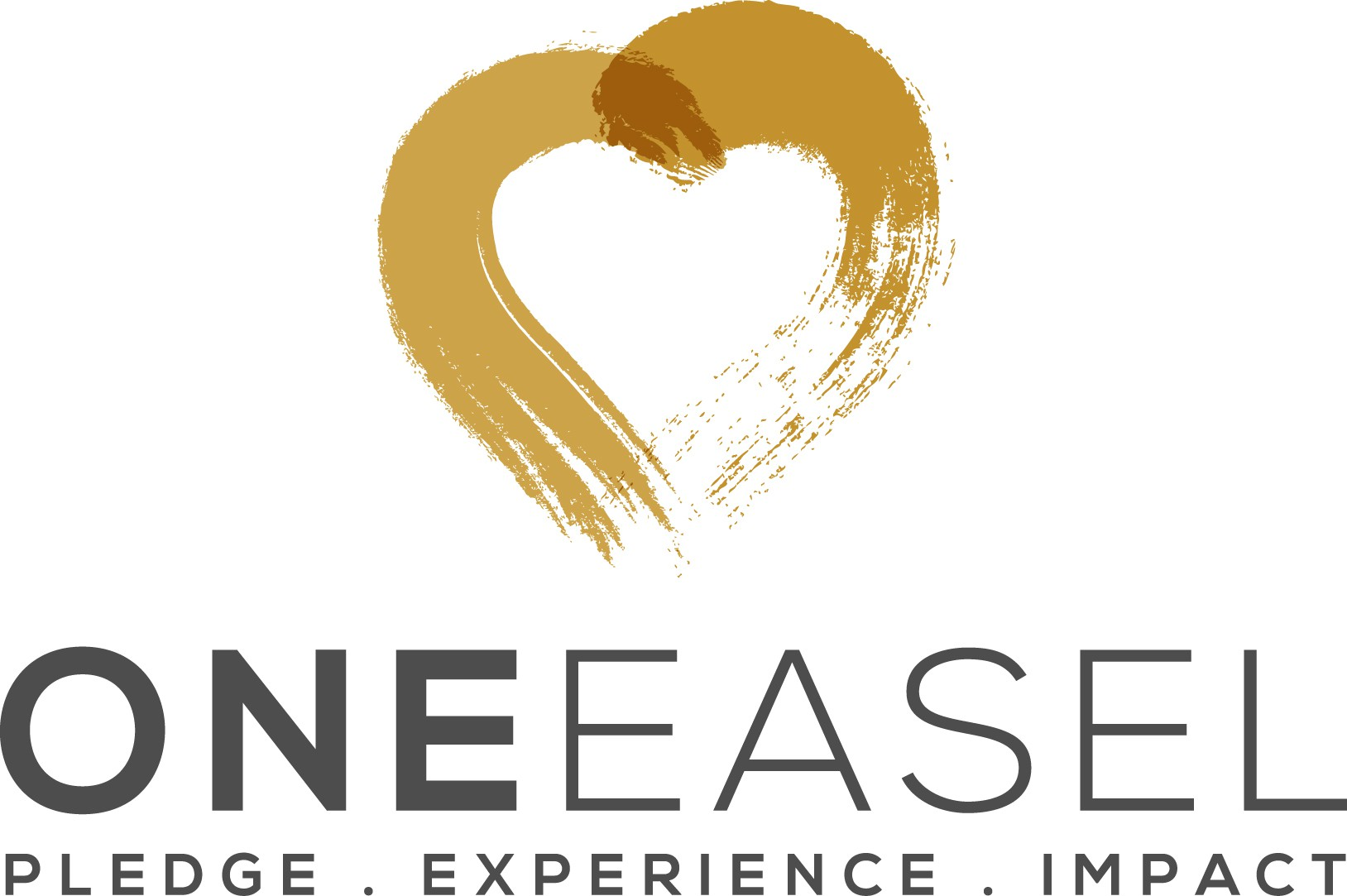 need a logo that portrays charity and giving for our art easel program