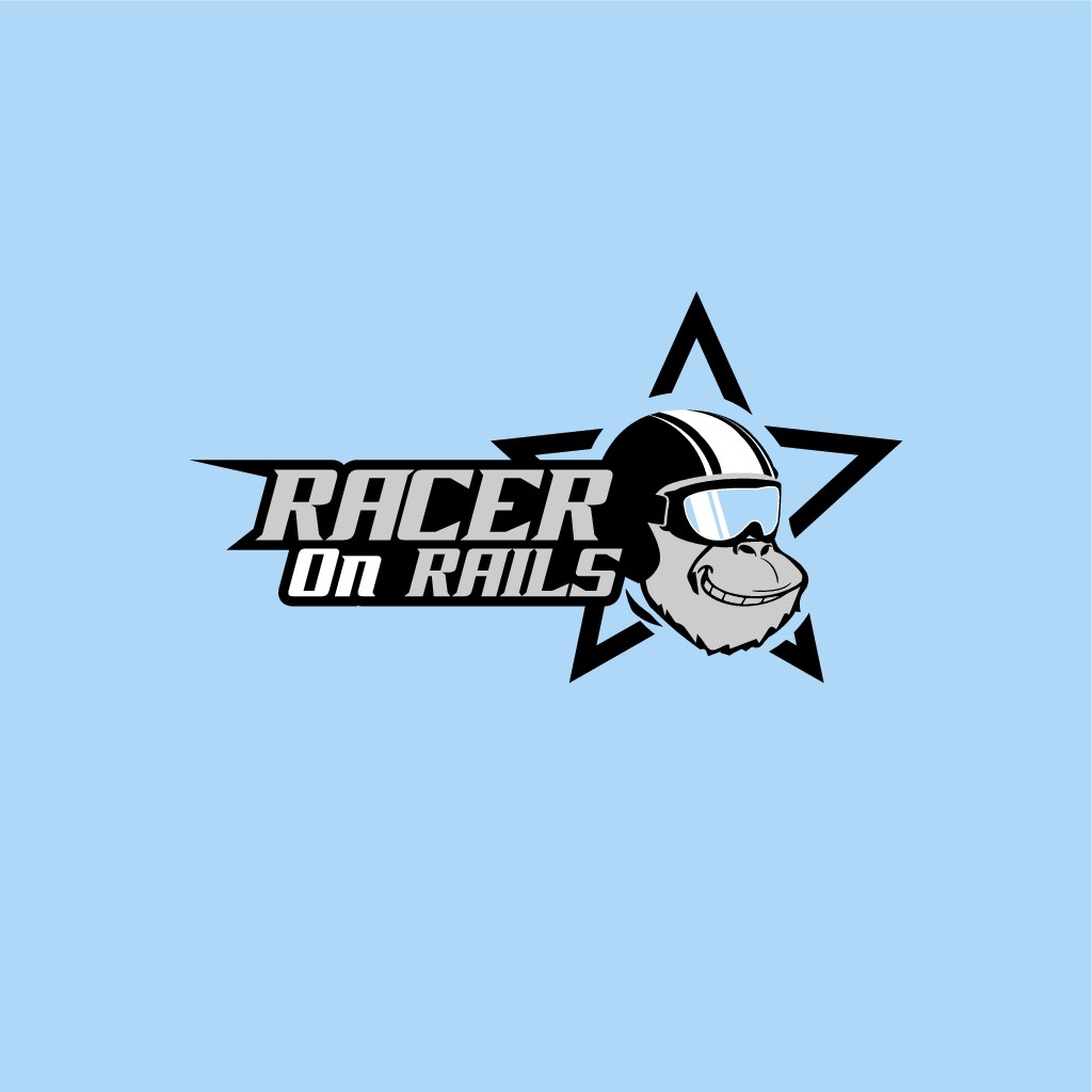 Design a clean but edgy identity for Racer on Rails - for young gearheads