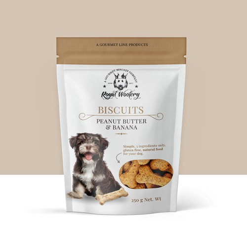 A Gourmet Line Dog Biscuits Entry