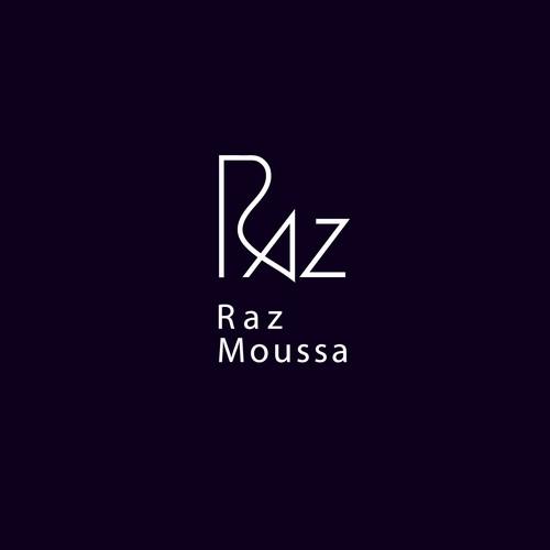 Modern logo for photographer/musician